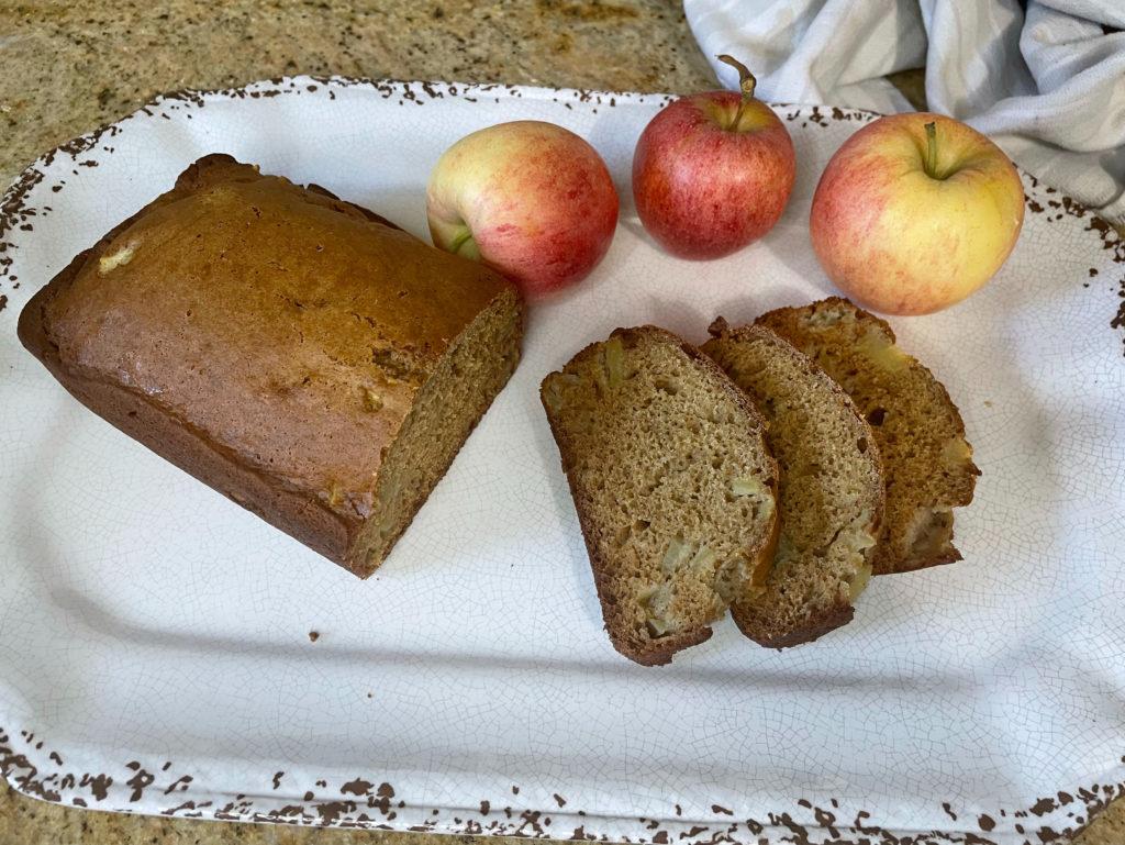 apple cider cinnamon bread