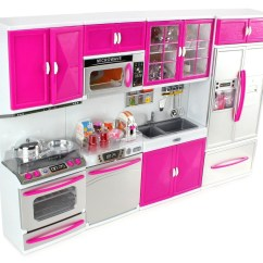 Kitchen Set For Girl Keen Shoes My Modern 32 Full Deluxe Kit Battery Operated