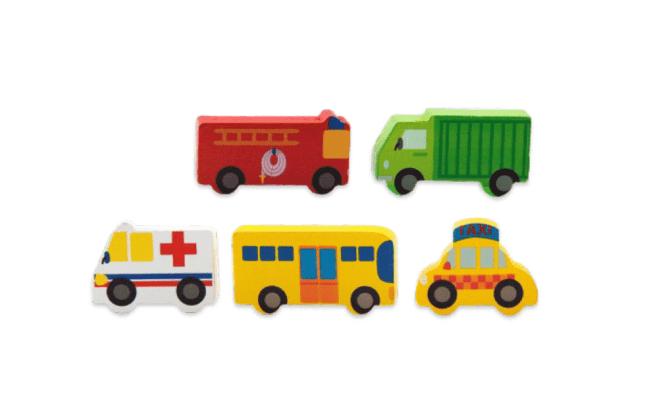 City Transportation Wodden Building Blocks 100 Pices