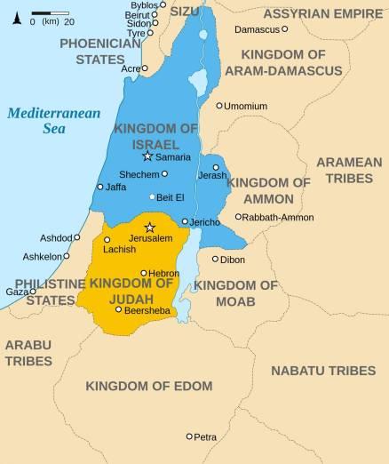 Divided Kingdom Map