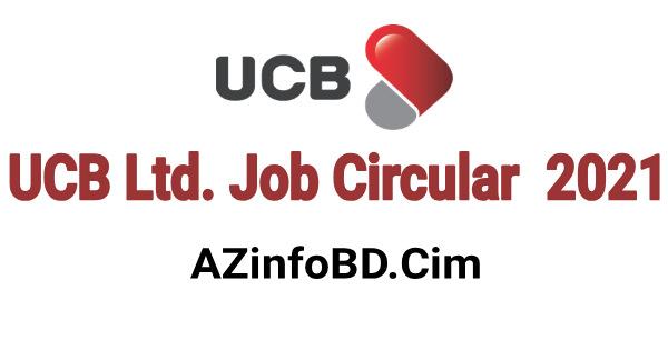 UCB Ltd. Job Circular 2021