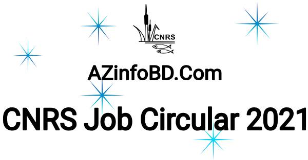 CNRS Exclusive Job Circular
