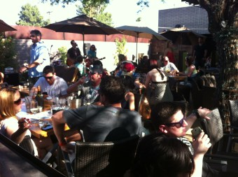 Sunday afternoon at the Vig in Phoenix, AZ