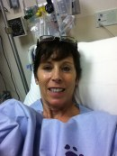 """A """"selfie"""" pre-surgery"""