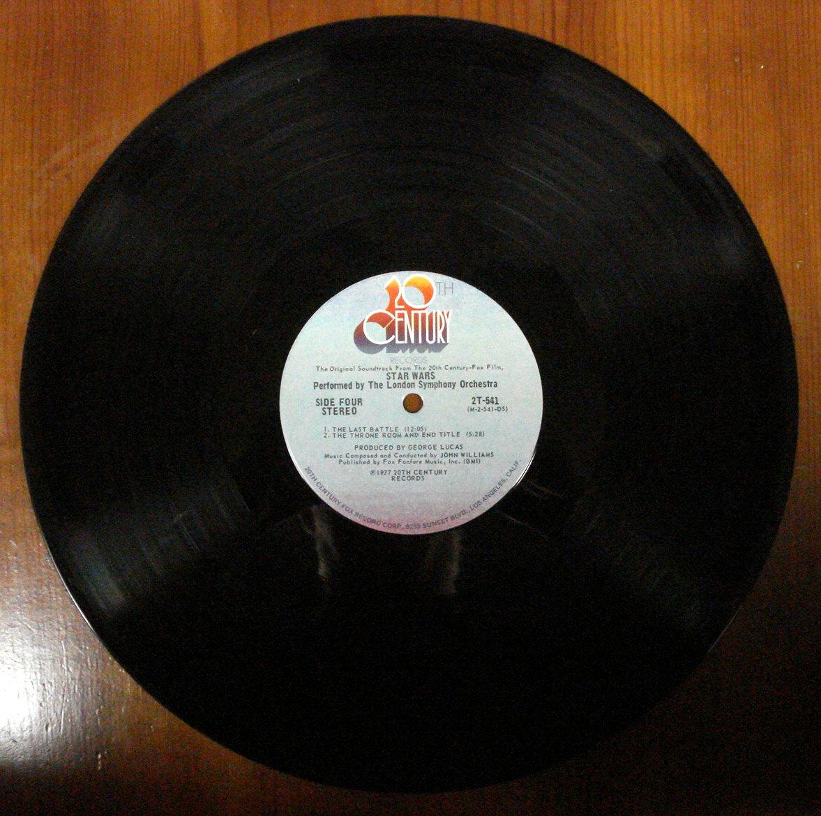 Star Wars Vinyl Lp  Azio Media Rare Books * Vinyl