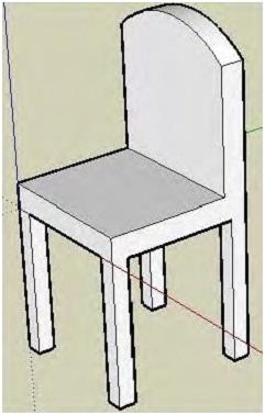 Gambar Kursi 3 Dimensi : gambar, kursi, dimensi, Inspirasi, Keren, Gambar, Sketsa, Kursi