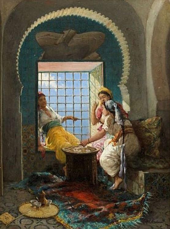 peintres orientalistes qui ont peint l