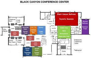 Black Canyon Conference Center Layout Map