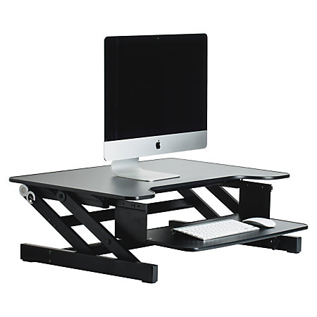 Lorell Sit-to-Stand Monitor Riser
