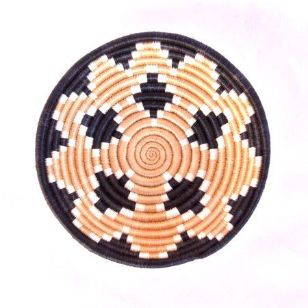 Diamond Burst Basket, Black Border, Small