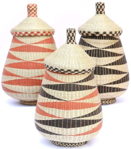 Teardrop Basket Trio