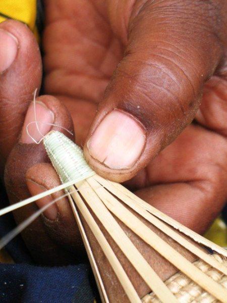 Weaving Peace Basket Lid
