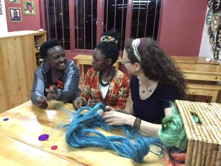 Artisan Alexia Teaches Sisal Weaving