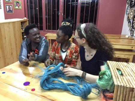 Artisan Alexia Teaches Sisal Weaving