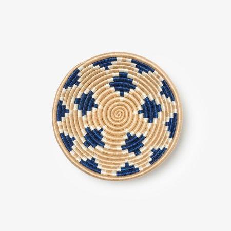 Akaneri Bowl Medium Indigo - Overhead