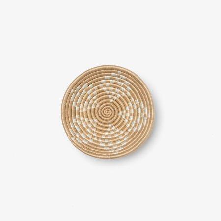 Bariku Bowl Small White - Overhead