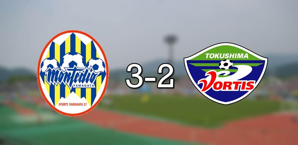 Montedio 3-2 Tokushima