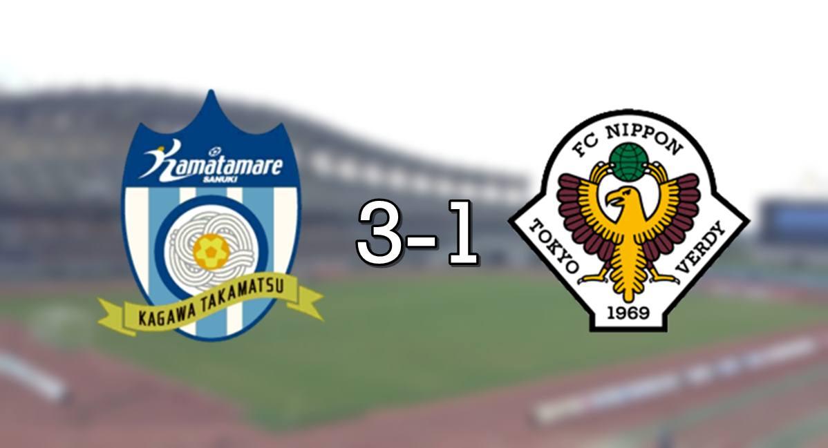 Kamatamare 3-1 Verdy
