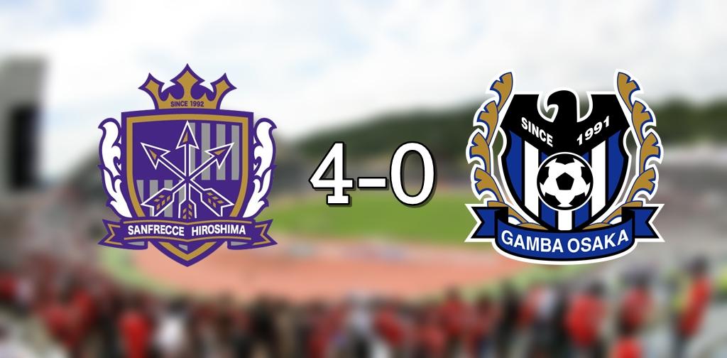 Sanfrecce 4-0 Gamba