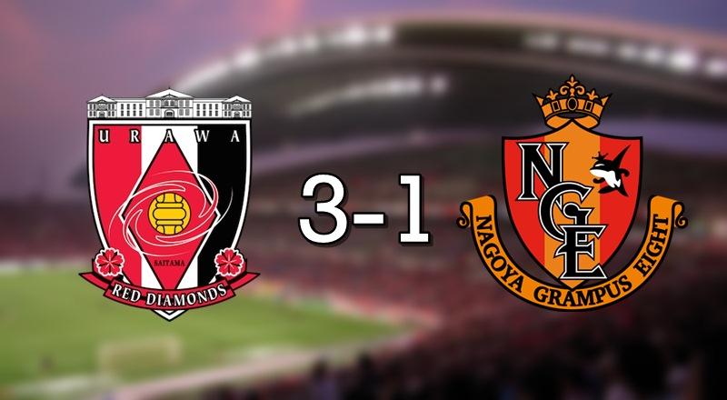Urawa 3-1 Nagoya