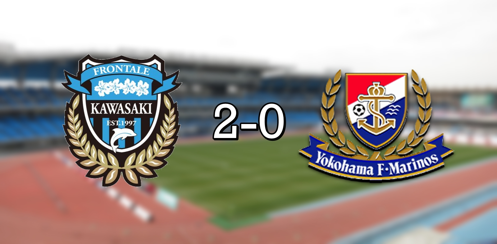 Kawasaki 2-0 Marinos