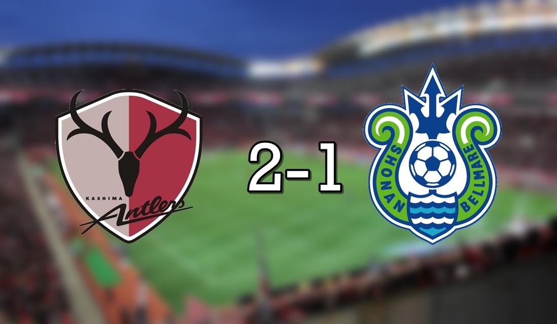 Kashima 2-1 Shonan