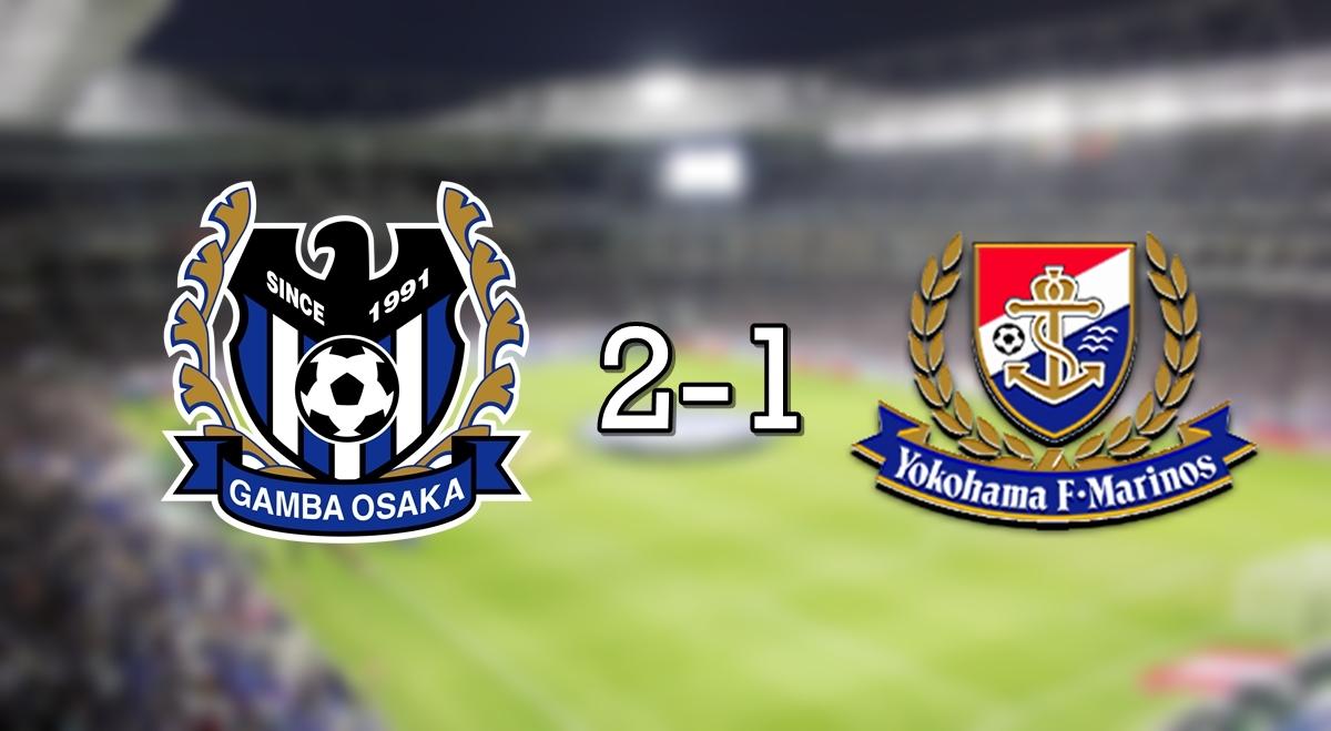 Gamba 2-1 Marinos
