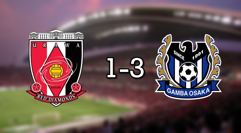 Urawa 1-3 Gamba