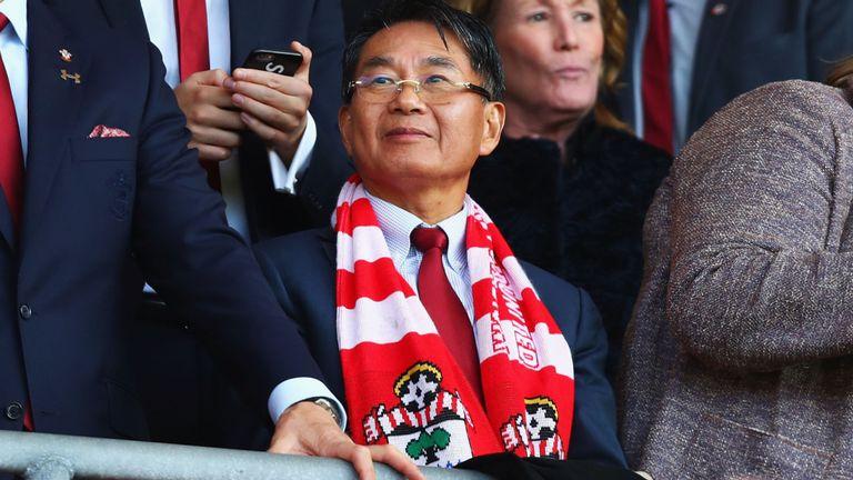 Gao Jisheng, właściciel Southampton FC