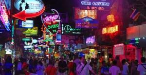 Walking Street Pattaya Tajlandia