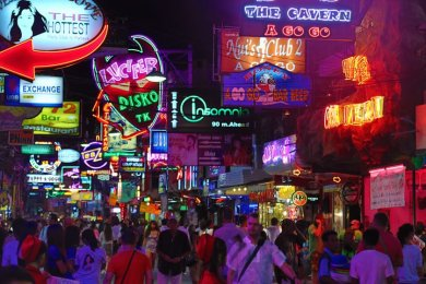 Walking Street Pattaya Tajlandia