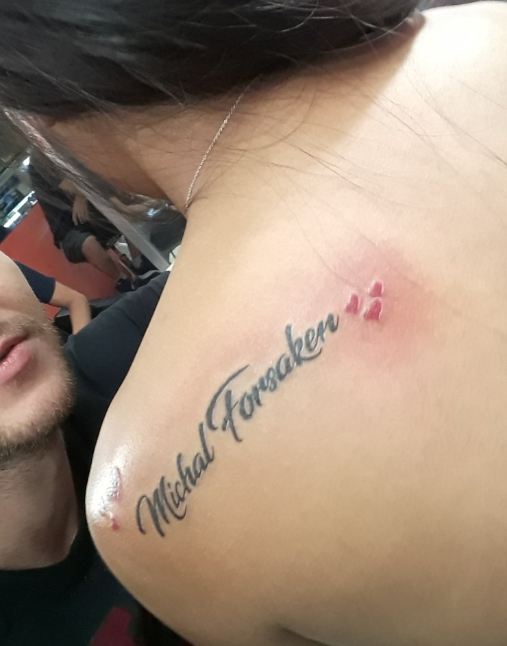 Filipiny, tatuaż, Michal Forsaken