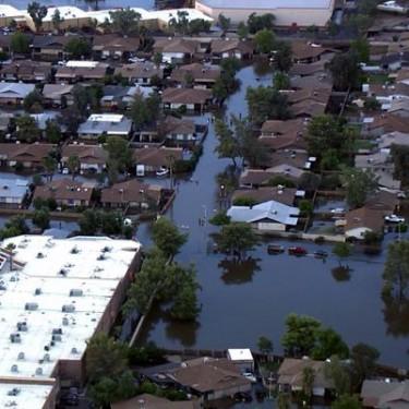 Mesa Hills Flooding