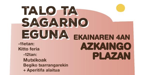 Talo ta Sagarno Eguna 2017 - Azkaingo Ikastola