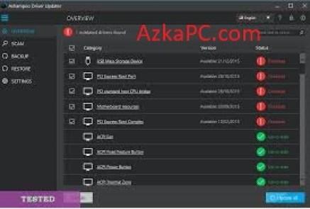 Ashampoo Driver Updater Crack 1.5.0 With Keygen New Version [2021]
