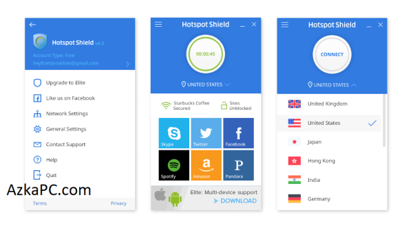 Hotspot Shield VPN 10.21.2 Crack + License Key Latest Version [2021]