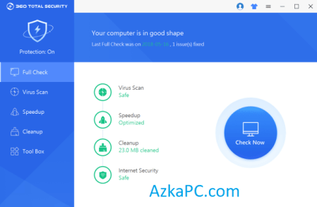 360 Total Security Crack 10.8.0.1310 With Serial Key 2021 (Latest)