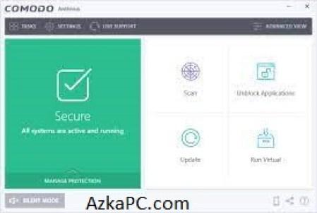 Comodo Antivirus Crack 2021 Plus License Key [Latest] Free Download