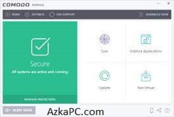 Comodo Antivirus 12.2.2.8012 Crack 2021 Plus License Key [Latest] Free Download
