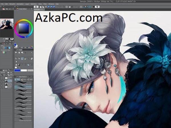 Clip Studio Paint Ex 1.10.600Crack With Keygen Free Download