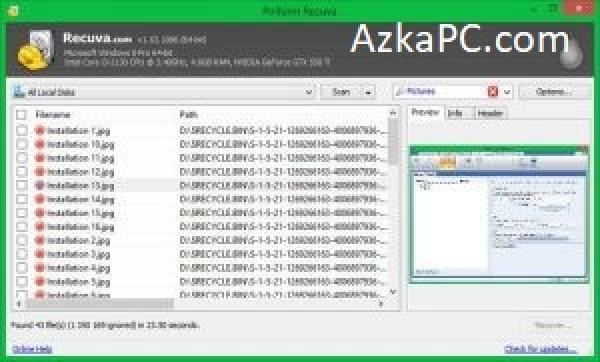 Recuva Professional 1.58 Crack + Serial Key 2021 [Latest]