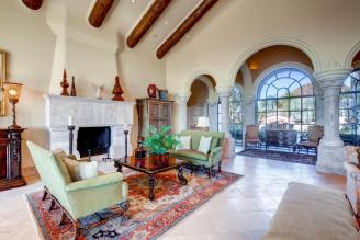 World class Scottsdale Estate on 20 Acres & 35+ car auto show garage 3