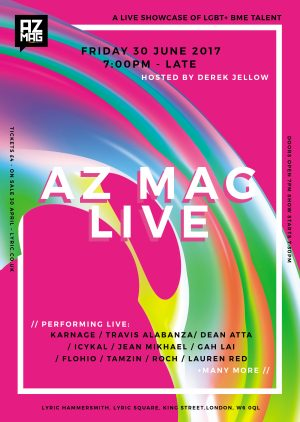 Announcement: AZ Mag Live