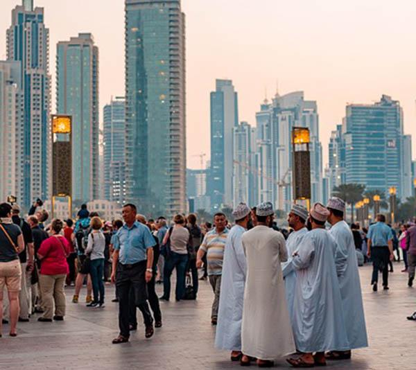 Небостъргачите на Дубай