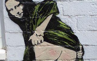 Pintura de Banksy