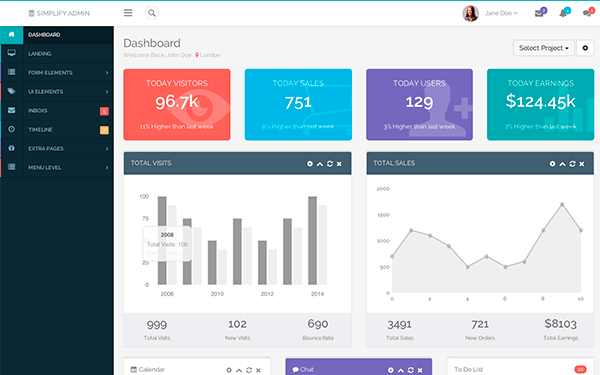 22 Best New Premium Bootstrap Admin Themes And Templates
