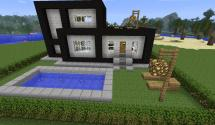 Minecraft Modern House Map