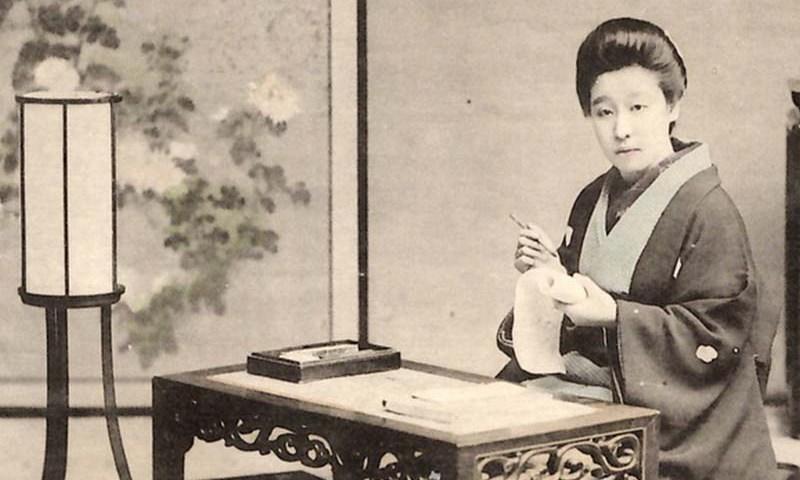 japanese old lady, cerita rakyat jepun
