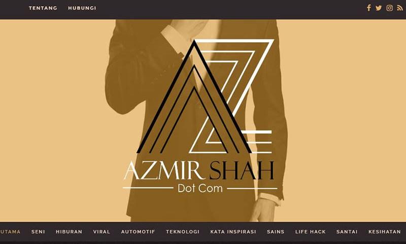 azmirshah.com,azmirshahdotcom