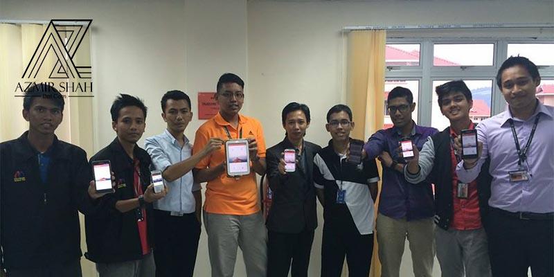 mobile development, bengkel android, belajar di politeknik, belajar poli, politeknik malaysia